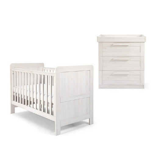 Mamas & Papas Atlas 2-Piece Room Set - Nimbus White