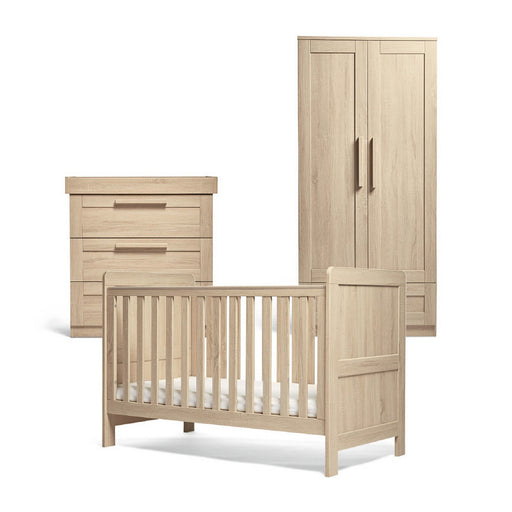 Mamas & Papas Atlas 3-Piece Room Set - Light Oak