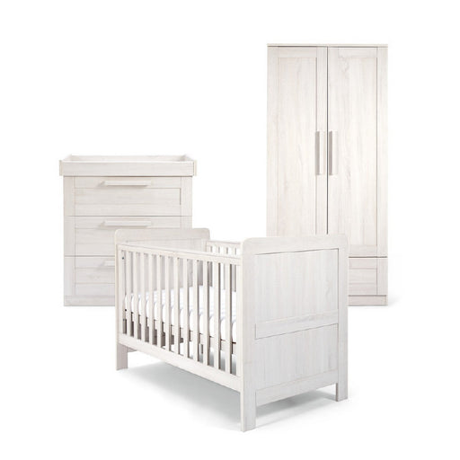 Mamas & Papas Atlas 3-Piece Room Set - Nimbus White