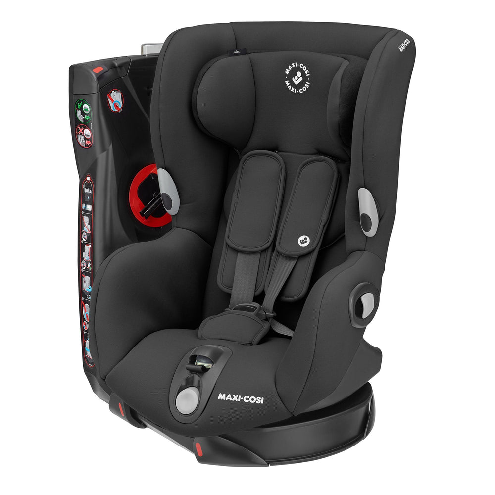 Maxi-Cosi Axiss Group 1 toddler car seat - Authentic Black - Pushchair Expert