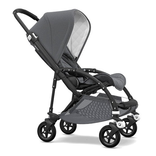 Bugaboo Bee 5 Classic (Grey Melange on Black Chassis) - Pushchair Expert