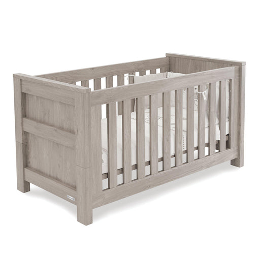BabyStyle Charnwood Bordeaux Ash Cot Bed