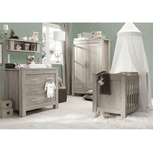 BabyStyle Charnwood Bordeaux Ash 3-Piece Furniture Set