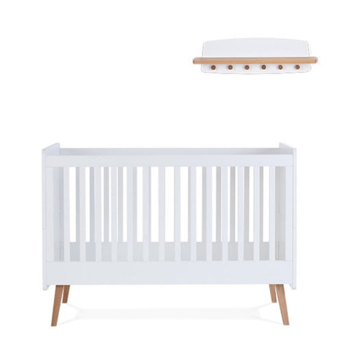 Silver Cross Brighton Furniture - Cot Bed and Shelf