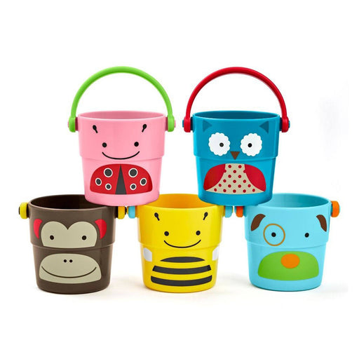 Skip Hop Zoo Stack & Pour Buckets - Pushchair Expert