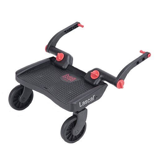 Lascal Buggyboard Mini Red - Pushchair Expert