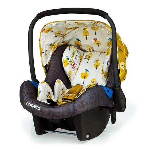 Cosatto Port Group 0+ infant car seat - Spot the Birdie - Pushchair Expert