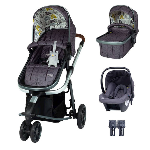 Cosatto Giggle 3 Travel System Bundle with Hold Car Seat - Fika Forest
