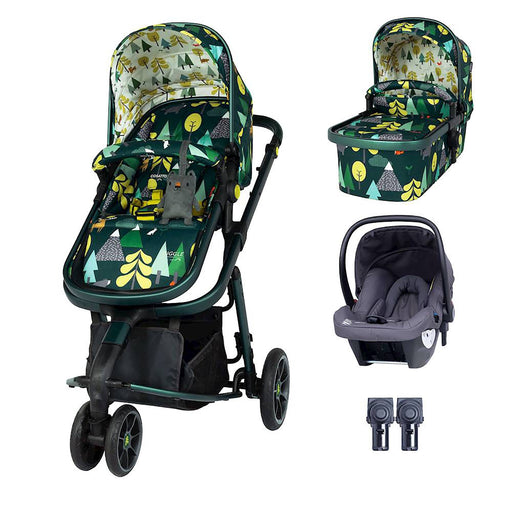 Cosatto Giggle 3 Travel System Bundle with Hold Car Seat - Into the Wild