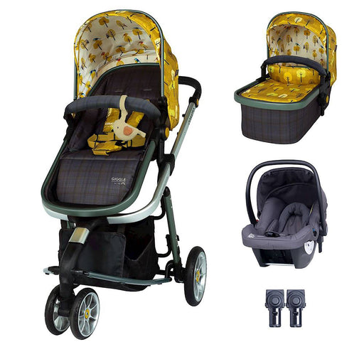 Cosatto Giggle 3 Travel System Bundle with Hold Car Seat - Spot the Birdie
