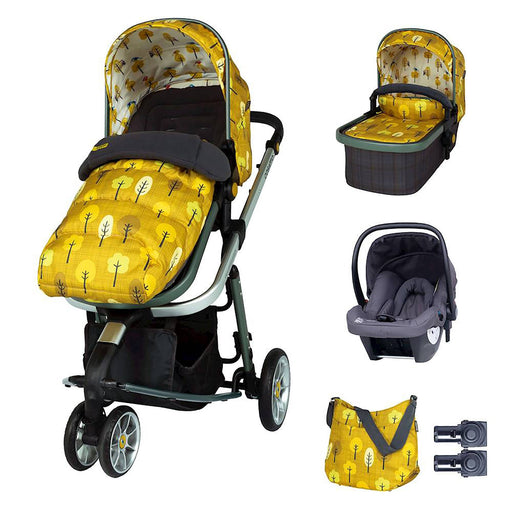 Cosatto Giggle 3 Marvellous Bundle with Hold Car Seat - Spot the Birdie