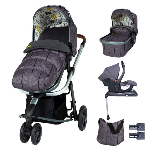 Cosatto Giggle 3 Whole 9 Yards Bundle with Hold Car Seat - Fika Forest