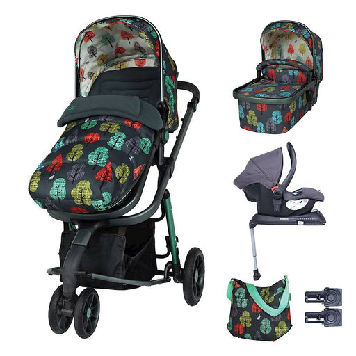 Cosatto Giggle 3 Whole 9 Yards Bundle with Hold Car Seat - Hare Wood