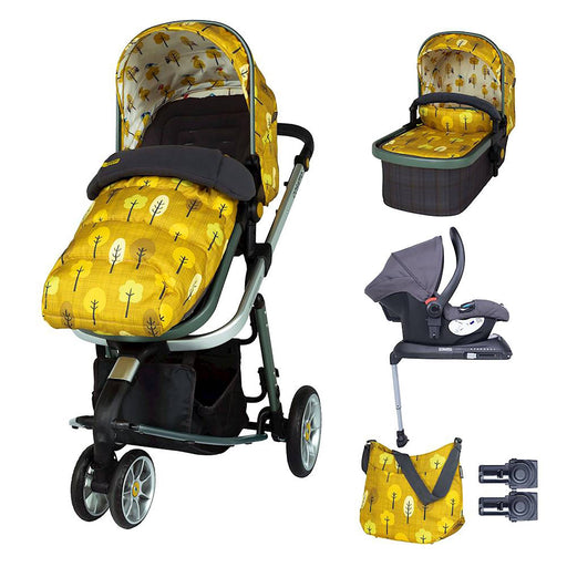 Cosatto Giggle 3 Whole 9 Yards Bundle with Hold Car Seat - Spot the Birdie