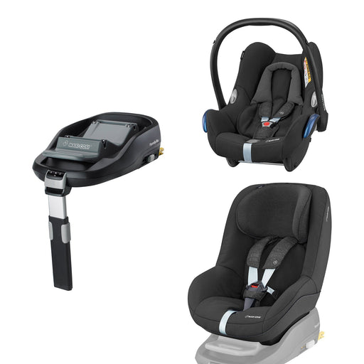 Maxi-Cosi CabrioFix, Pearl and FamilyFix Bundle - Pushchair Expert