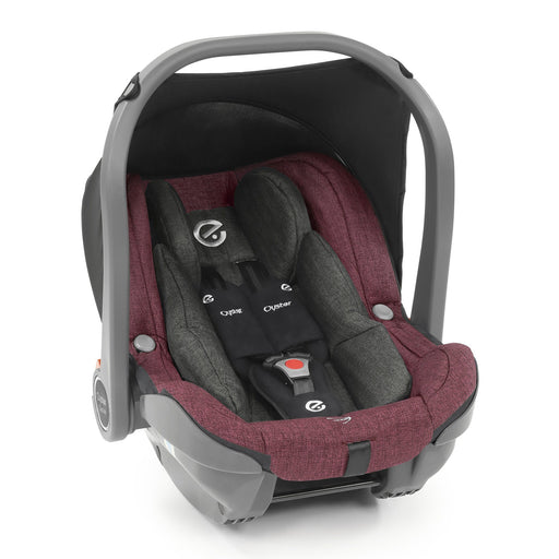 BabyStyle Oyster 3 Capsule i-Size infant car seat - Berry - Pushchair Expert