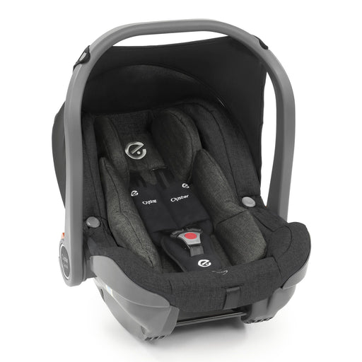 BabyStyle Oyster 3 Capsule i-Size infant car seat - Caviar - Pushchair Expert