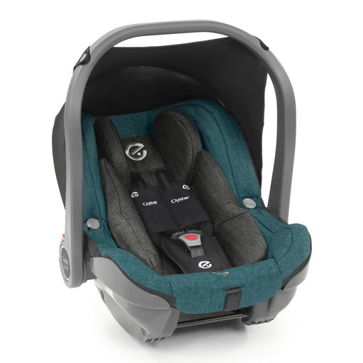 BabyStyle Oyster 3 Capsule i-Size infant car seat - Peacock - Pushchair Expert