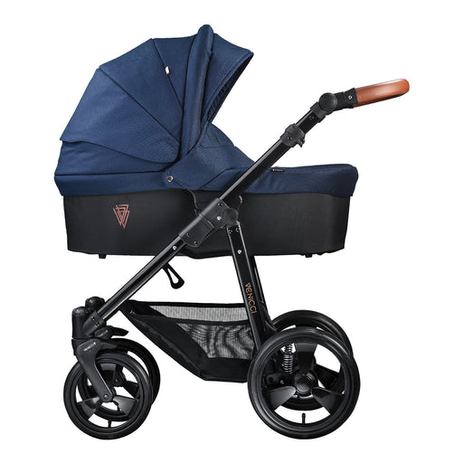 Venicci Gusto 3-in-1 Travel System Navy - Pushchair Expert
