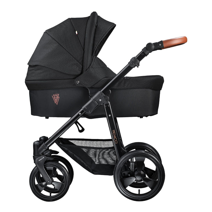 Venicci Gusto 2-in-1 Black - Pushchair Expert