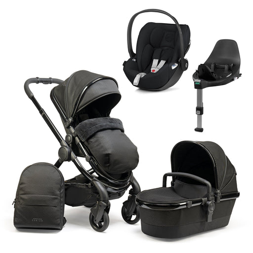 iCandy Peach travel system bundle with Cybex Cloud Z - Designer Collection Cerium