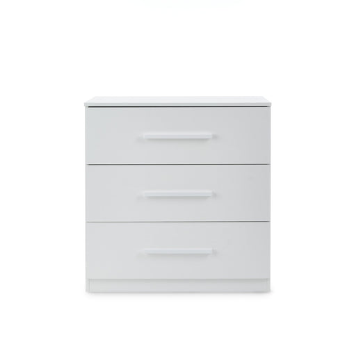 Ickle Bubba Grantham Chest of Drawers and Changer - Brushed White