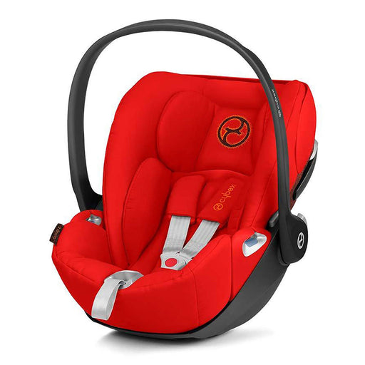 Cybex Cloud Z i-Size infant car seat - Autumn Gold (burnt red) - Pushchair Expert