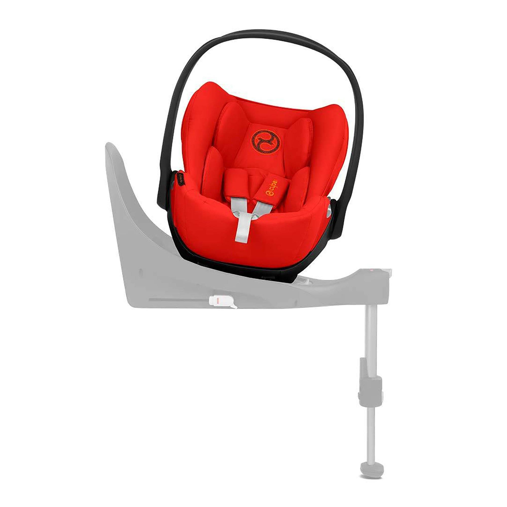 Cybex Cloud Z i-Size PLUS infant car seat - Autumn Gold (burnt red) - Pushchair Expert