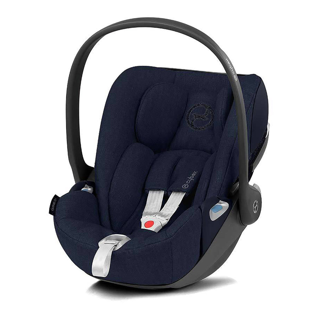 Cybex Cloud Z i-Size PLUS infant car seat - Nautical Blue - Pushchair Expert