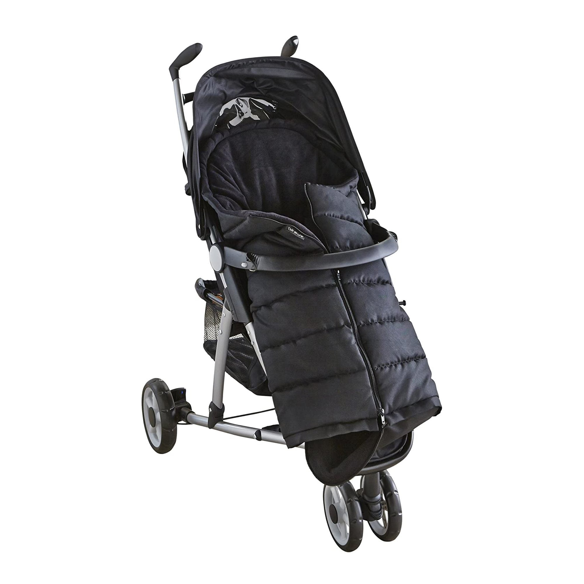 Clair de Lune Cocoon Universal Pushchair Footmuff - Black
