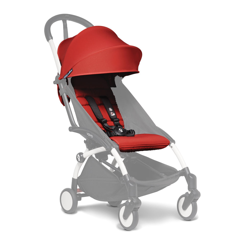 Babyzen YOYO 2 Colour Pack - Red - Pushchair Expert