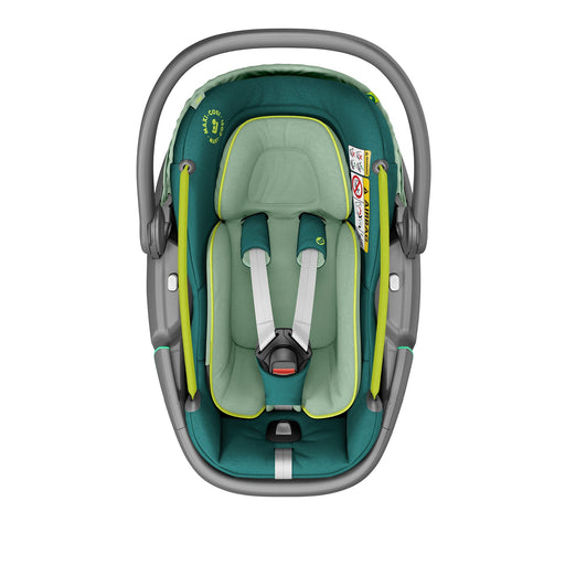 Maxi-Cosi Coral i-Size Infant Car Seat - Neo Green - Pushchair Expert