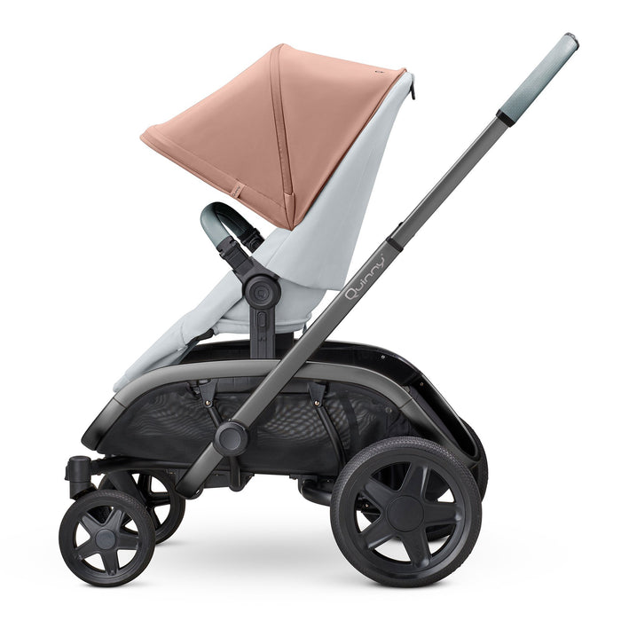 Quinny Hubb Cork on Grey with Graphite Frame - Pushchair Expert