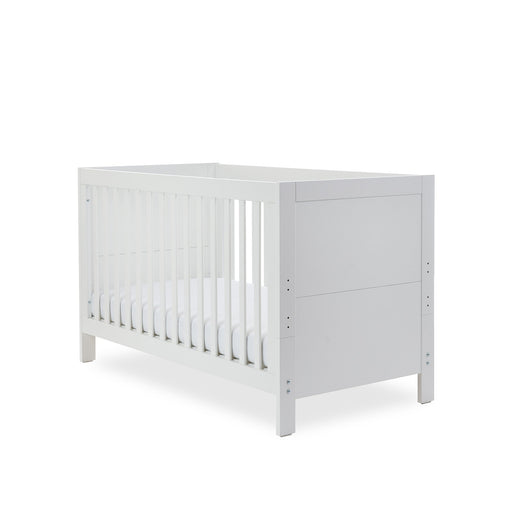 Ickle Bubba Grantham Cot Bed - Brushed White