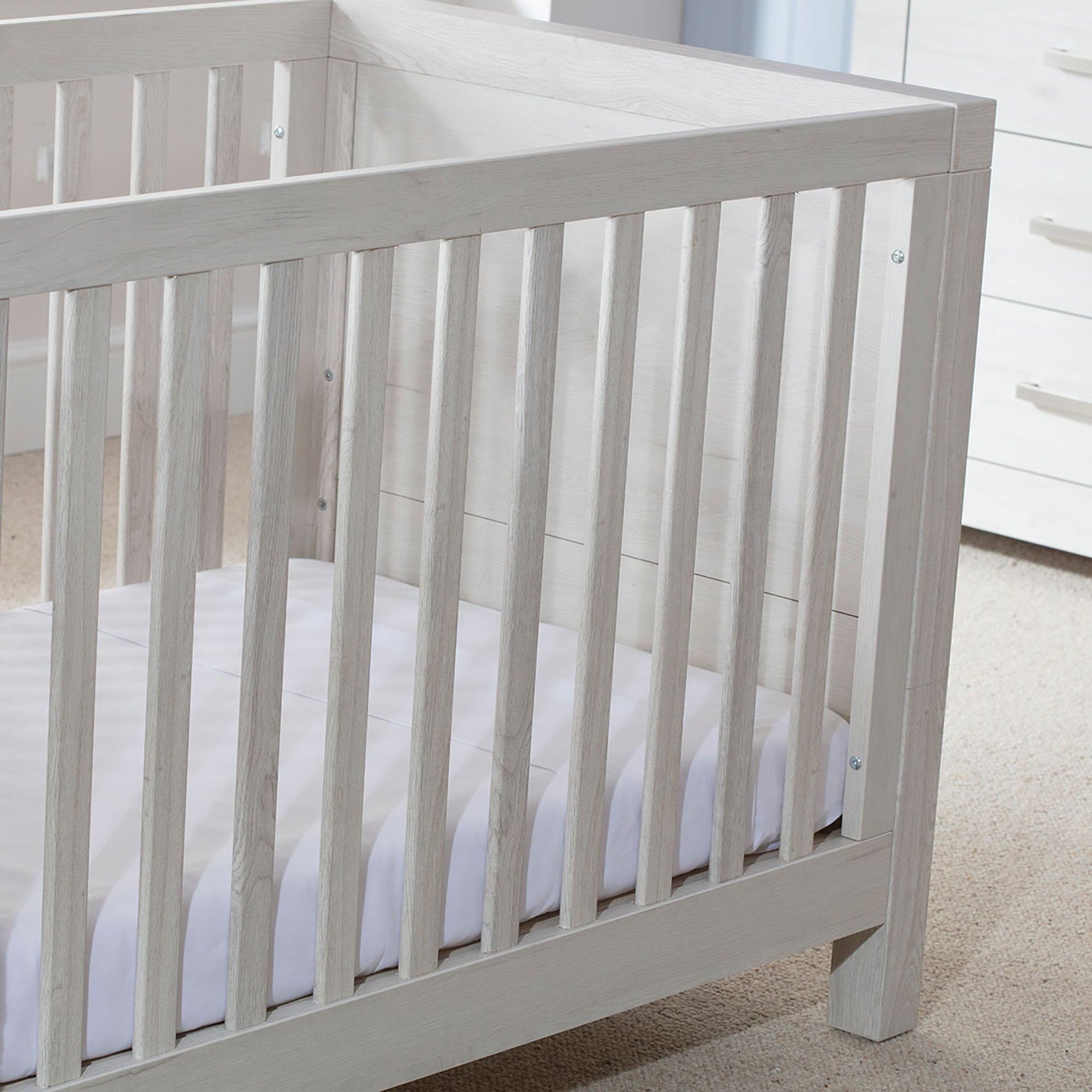 Silver Cross Coastline Furniture - Cot Bed and Wardrobe - Pushchair Expert