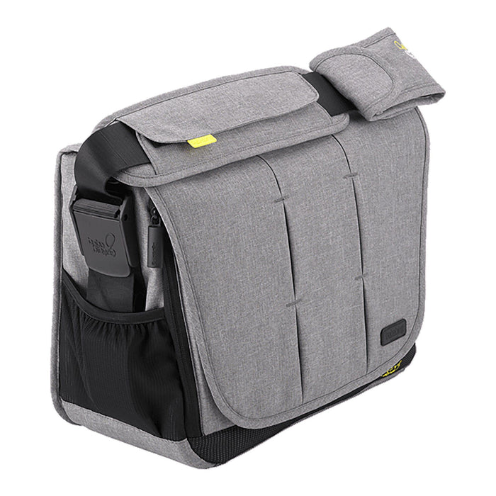 BabaBing! DayTripper City Deluxe changing bag - Grey - Pushchair Expert