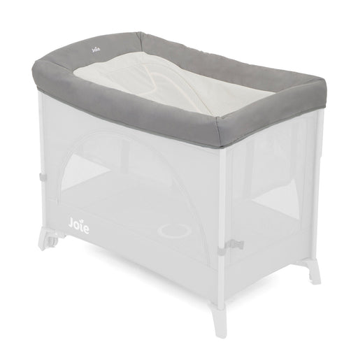 Joie Daydreamer for Kubbie and Kubbie Sleep Travel Cots - Foggy Grey - Pushchair Expert