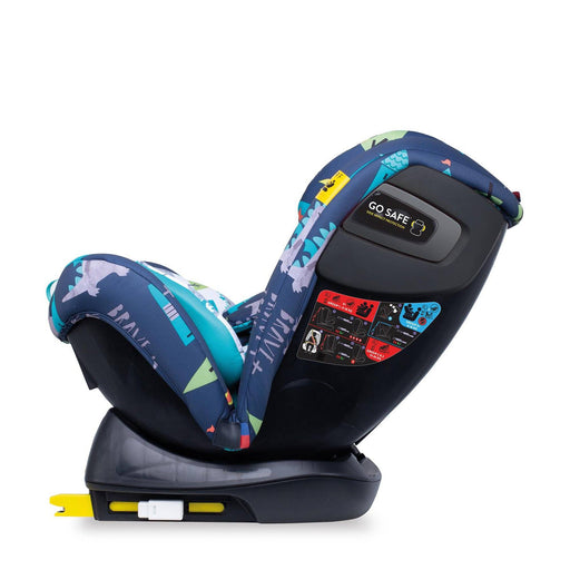 Cosatto All in All + Group 0+1/2/3 car seat - Dragon Kingdom - Pushchair Expert