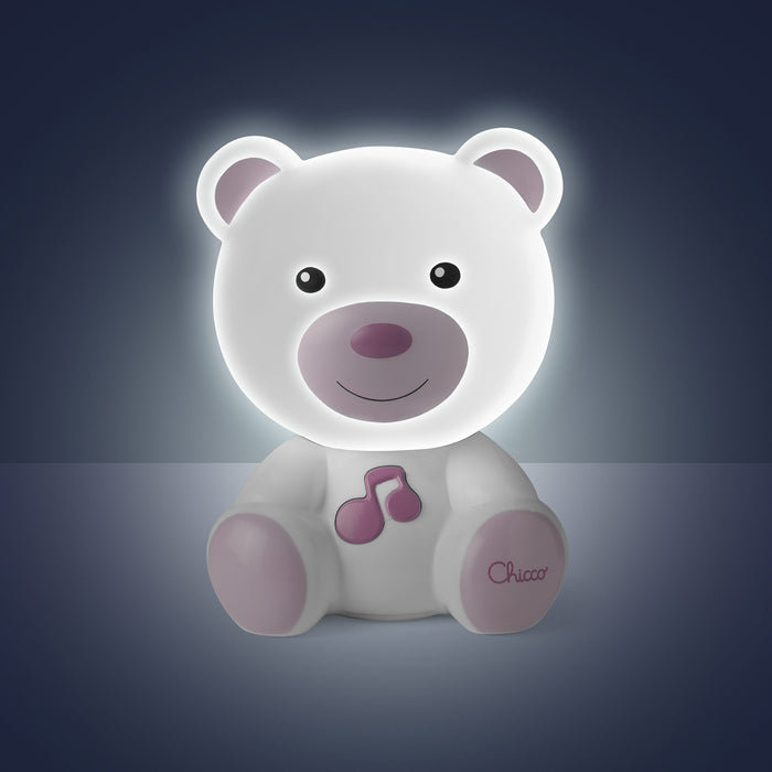Chicco Dreamlight Bear - Pink