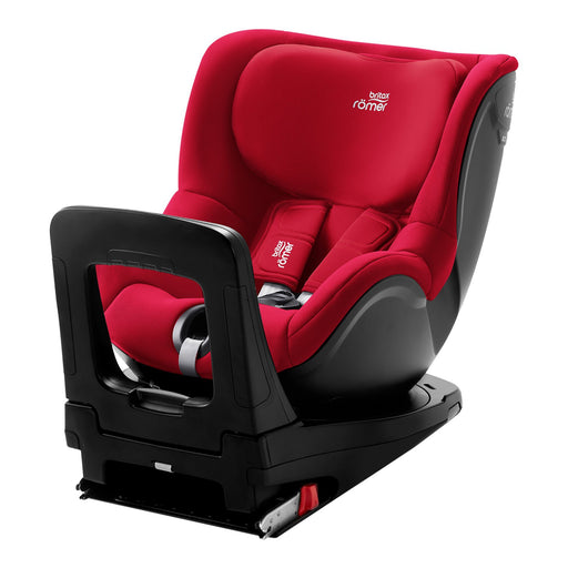 Britax Römer Dualfix i-Size car seat - Fire Red