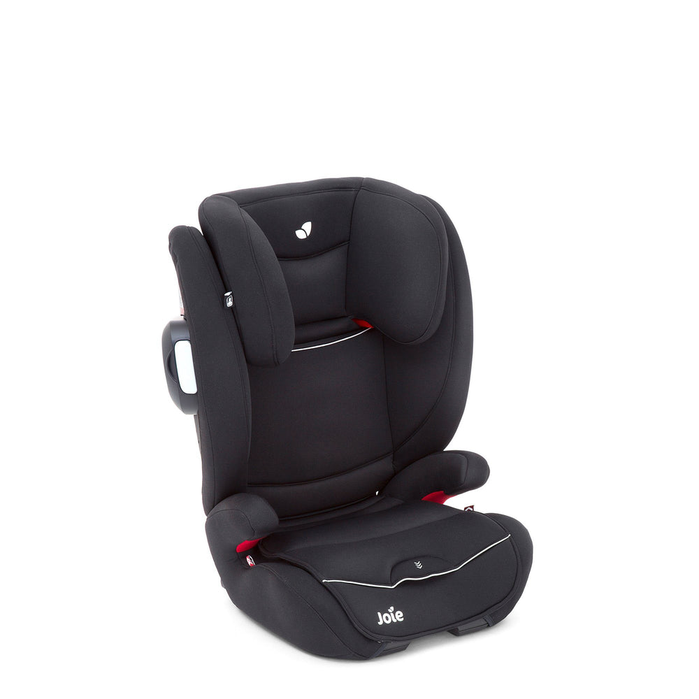 Joie Duallo Group 2/3 high-back booster car seat - Tuxedo - Pushchair Expert