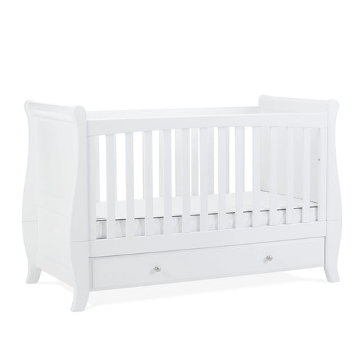 Silver Cross Elegance Sleigh Cot bed - Pushchair Expert