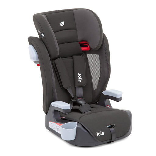 Joie Elevate Group 1/2/3 car seat - Two Tone Black - Pushchair Expert