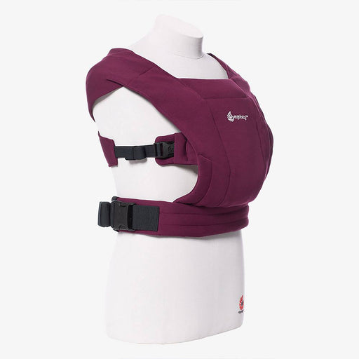 Ergobaby Embrace Newborn Carrier - Burgundy - Pushchair Expert