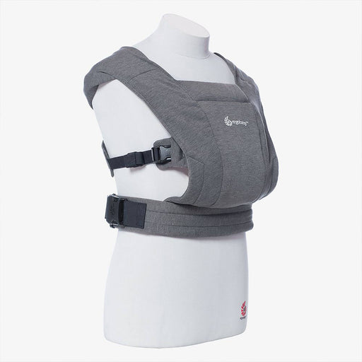 Ergobaby Embrace Newborn Carrier - Heather Grey - Pushchair Expert