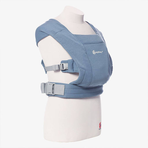 Ergobaby Embrace Newborn Carrier - Oxford Blue - Pushchair Expert