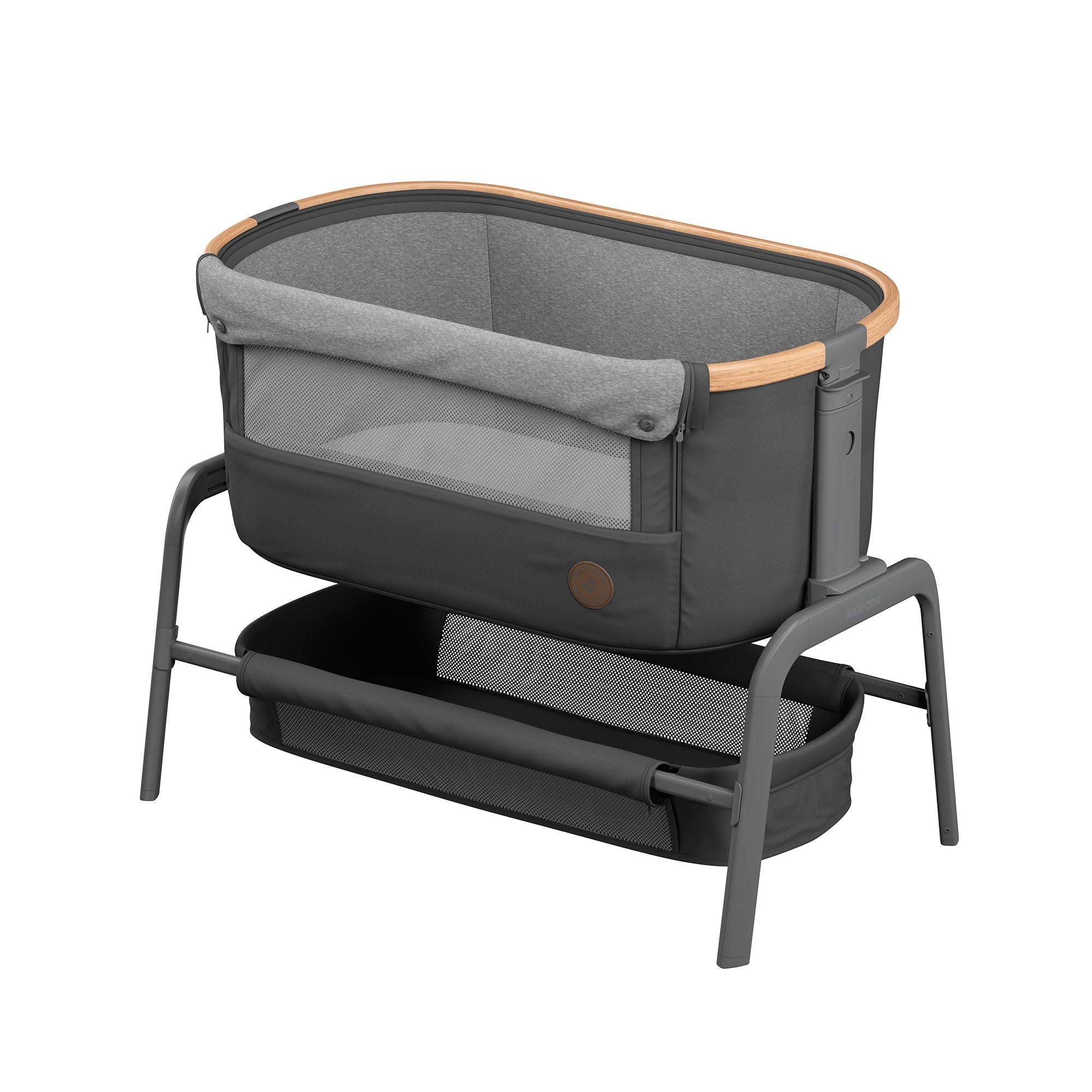 Maxi-Cosi Iora Co-Sleeper - Essential Graphite - Pushchair Expert