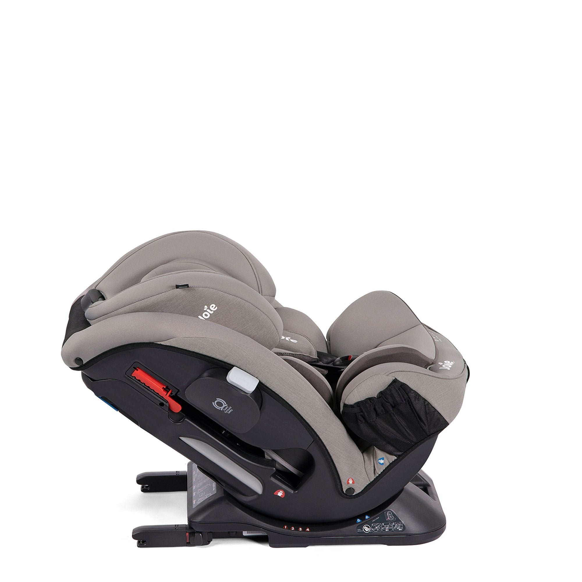 Joie Every Stage FX Group 0+/1/2/3 car seat - Grey Flannel - Pushchair Expert