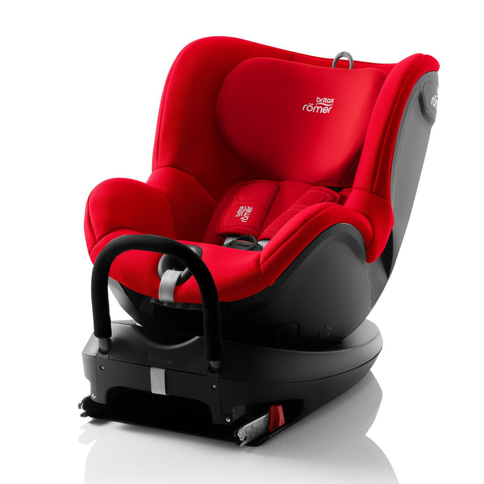 Britax Rӧmer Dualfix2 R Group 0+/1 car seat - Fire Red - Pushchair Expert