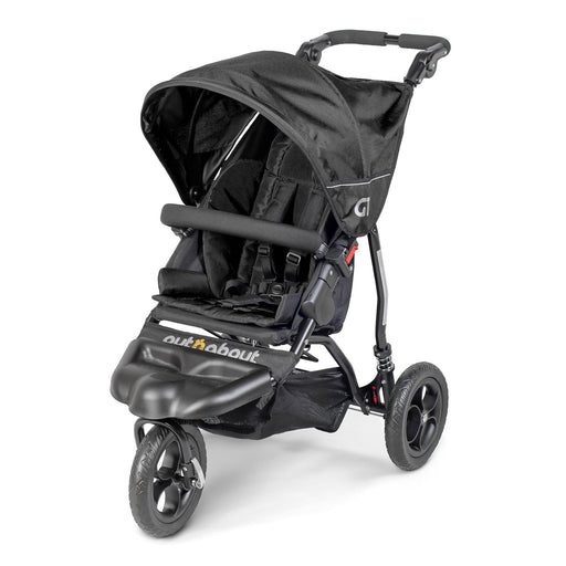 Out'n'About GT Single Pushchair - Raven Black